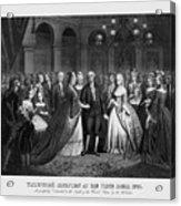 George Washington's Reception At White House - 1776  Acrylic Print