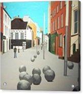 George's Street, Waterford Acrylic Print