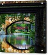 Georgetown Canal Bridges Acrylic Print