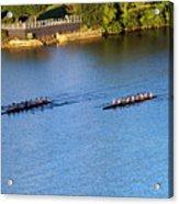 Georgetown Crew On The Potomac? Acrylic Print