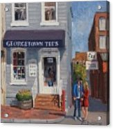 Georgetown Tee's Acrylic Print