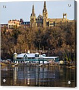 Georgetown University Waterfront  Acrylic Print