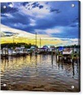 Georgetown Yacht Basin Acrylic Print