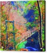 Georgia Gorge Acrylic Print