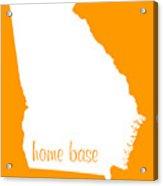 Georgia Is Home Base White Acrylic Print