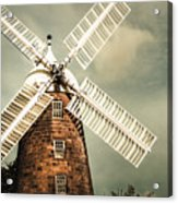 Georgian Stone Windmill  Acrylic Print