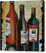 Georgian Wine Fresco Acrylic Print