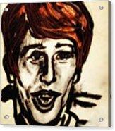 Georgie Fame Portrait Acrylic Print