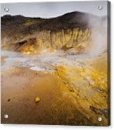 Geothermal Area Acrylic Print