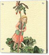 Geranium Girl Acrylic Print