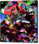 Geranium Gone Wild Acrylic Print