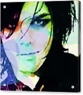 Gerard Way My Chemical Romance  Acrylic Print