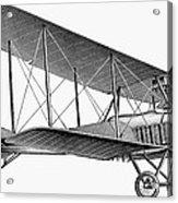German Airplane, 1913 Acrylic Print