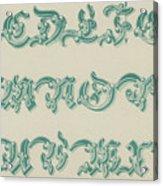 German Arabesque  Acrylic Print