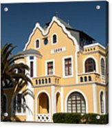 German Colonial Architecture In Swakopmund Acrylic Print