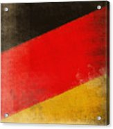 German Flag Acrylic Print