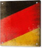 German Flag Acrylic Print by Setsiri Silapasuwanchai