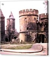 German Gate In Metz 1955 Acrylic Print