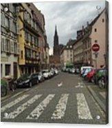 German Street Acrylic Print