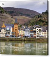 German Wine Country Acrylic Print