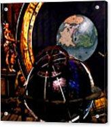 German World Atlas Acrylic Print