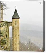Germany - Elbtal From Festung Koenigstein Acrylic Print by Christine Till