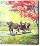 Germany Baden-baden Lichtentaler Allee Spring 2 Acrylic Print