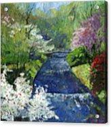 Germany Baden-baden Spring Acrylic Print by Yuriy  Shevchuk