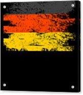 Germany Gift Country Flag Patriotic Travel Shirt Europe Light Acrylic Print