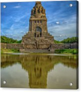 Germany - Monument To The Battle Of The Nations In Leipzig, Saxony Acrylic Print