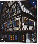 Germany Ulm Fischer Viertel Schwor-haus Acrylic Print