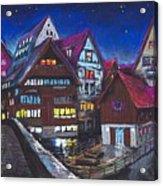 Germany Ulm Fischer Viertel Acrylic Print