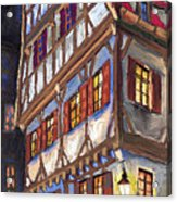 Germany Ulm Old Street Acrylic Print
