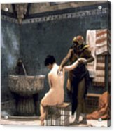 Gerome: The Bath, 1880 Acrylic Print by Granger