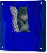 Gershwin The Cyan Squirrel Acrylic Print
