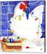 Gertrude Decorating Acrylic Print