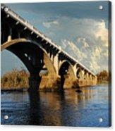 Gervais Street Bridge, Columbia, Sc Acrylic Print
