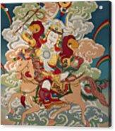 Gesar Gyalpo Acrylic Print