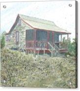 Get Away Cottage Acrylic Print