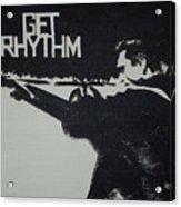 Get Rhythm Acrylic Print by Pete Maier
