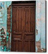 Getemala  Door 1 Acrylic Print
