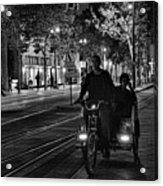 Getting Around San Jose Nights  Acrylic Print
