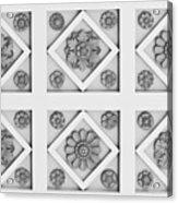 Getty Villa Coffered Peristyle Ceiling Acrylic Print