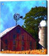 Gettysburg Barn Acrylic Print