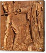 Gettysburg Bronze Relief Acrylic Print