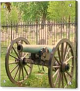 Gettysburg Cannon Cemetery Hill Acrylic Print