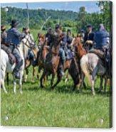 Gettysburg Cavalry Battle 7970c  Acrylic Print