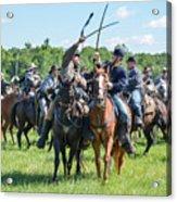 Gettysburg Cavalry Battle 7992c  Acrylic Print