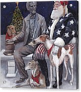 Gettysburg Christmas Acrylic Print