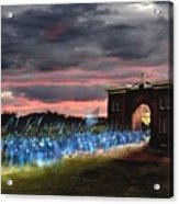 Gettysburg Evergreen Acrylic Print